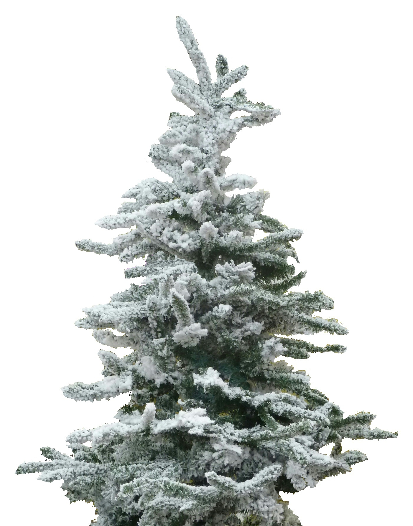 Artificial Christmas Trees With Snow Artificial Christmas Trees