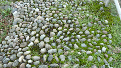Roadside pebbles